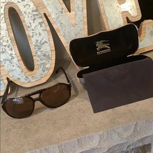 Authentic Burberry B 4091 Aviator Sunglasses